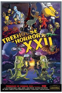 Simpsonovi - Speciální čarodějnický díl XXII  - Treehouse of Horror XXII