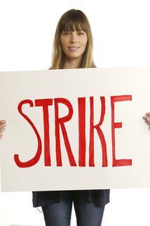 Jason Bateman, Jessica Biel, and Josh Gad Support the Strike!