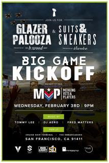 Glazer Palooza: Big Game Kick Off Live on Torio.Tv