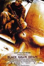 Plakát k filmu: Černý jestřáb sestřelen