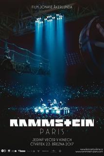 Plakát k filmu: Rammstein: Paris