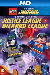Plakát k filmu: Lego DC Comics Super Heroes: Justice League vs. Bizarro League