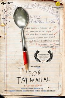 T for Taj Mahal