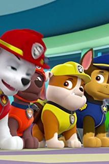 Tlapková patrola - Pups Get Growing/Pups Save a Space Toy  - Pups Get Growing/Pups Save a Space Toy