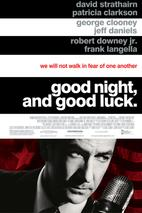 Plakát k filmu: Dobrou noc a hodně štěstí
