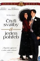 Plakát k filmu: Čtyři svatby a jeden pohřeb