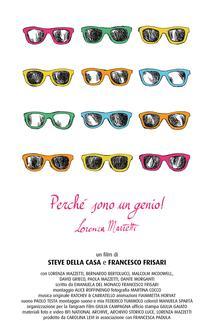 Because I am a genius! Lorenza Mazzetti