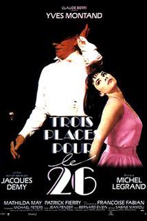 Tři vstupenky na 26.  - Trois places pour le 26
