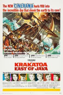 Krakatoa, na východ od Jávy