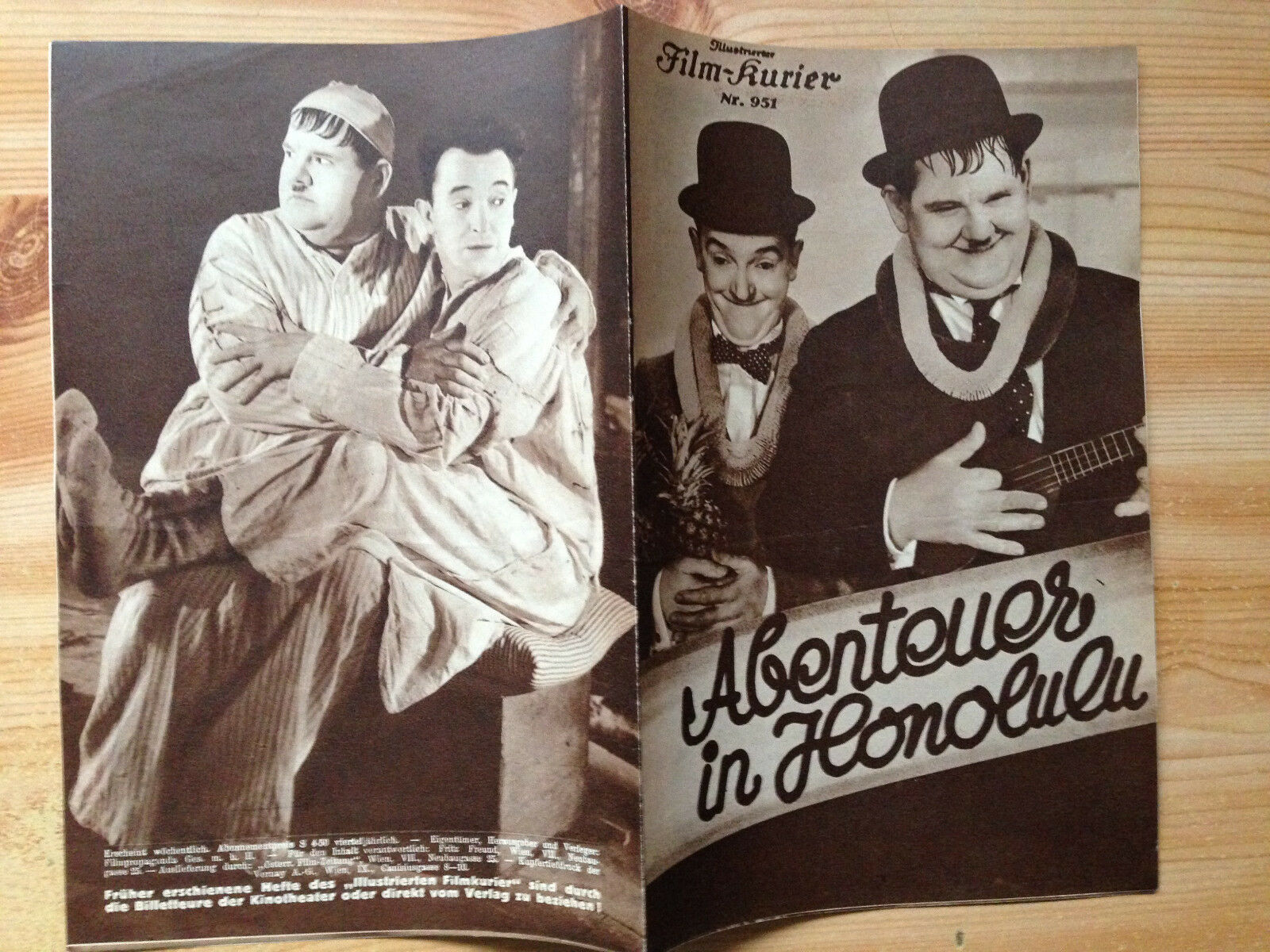 Laurel and Hardy Cartoon, A