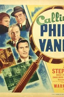 Calling Philo Vance