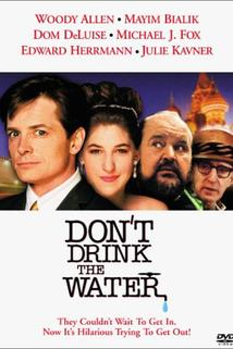 Nepijte vodu