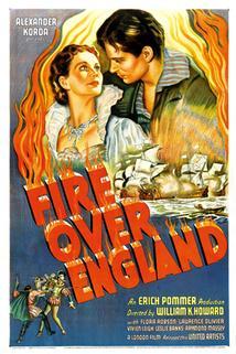 Požár nad Anglií