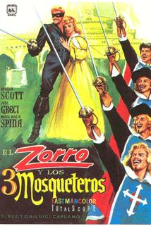 Zorro a tři mušketýři