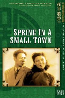 Jaro v městečku