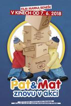 Plakát k filmu: Pat a Mat znovu v akci