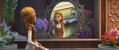 Sněhová královna v zemi zrcadel