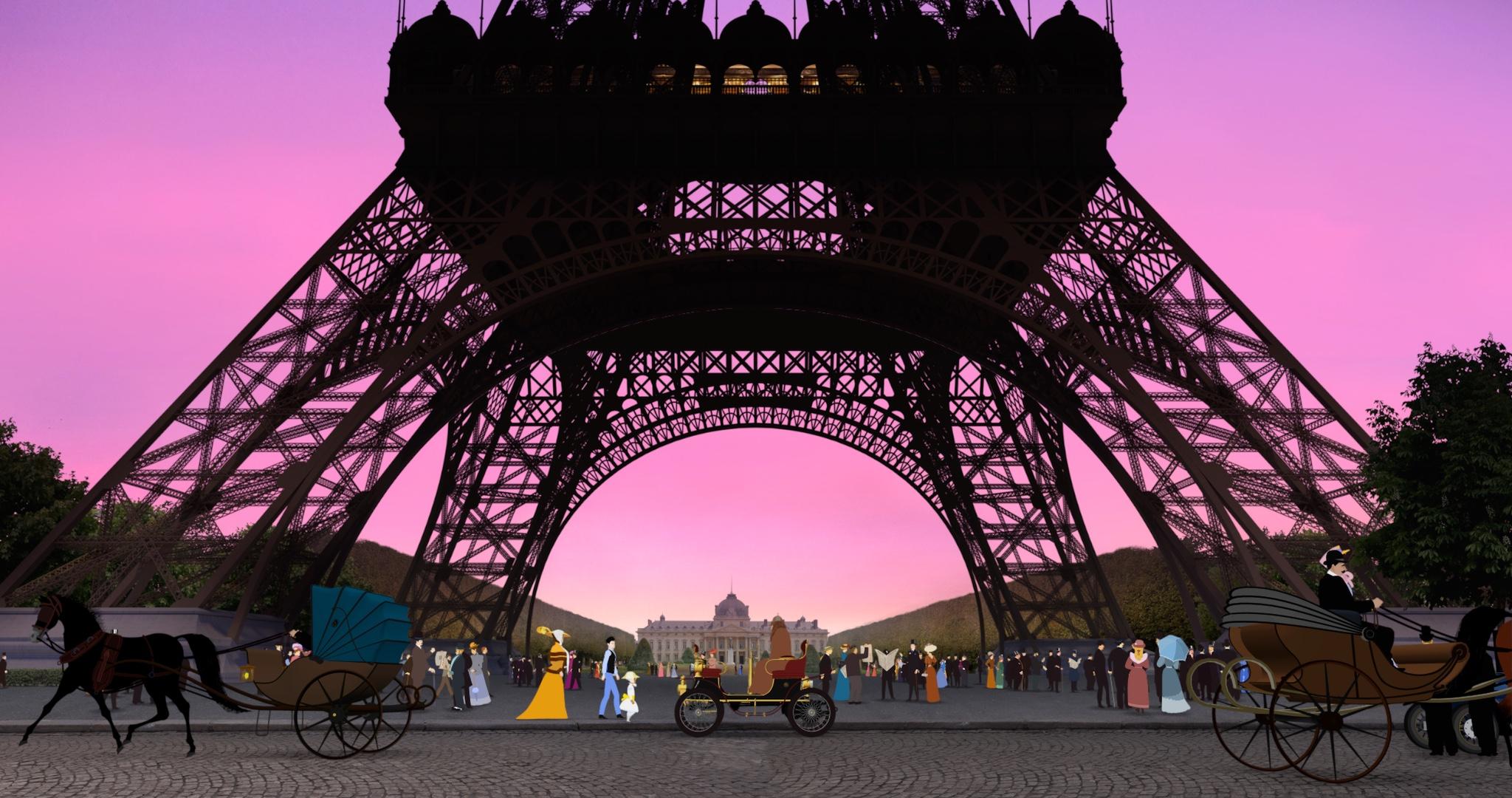 Dilili v Paříži