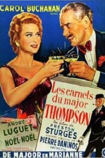 Zápisník majora Thompsona  - Les carnets du Major Thompson