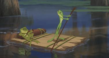 Princezna a žabák