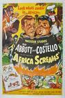 Abbott a Costello: Afrika volá