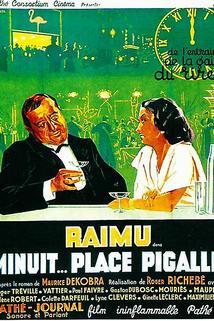 Minuit, place Pigalle