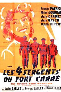 Quatre sergents du Fort Carré, Les