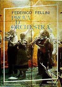 Zkouška orchestru  - Prova d'orchestra
