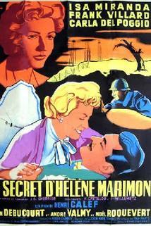 Tajemství Heleny Marimonové  - Secret d'Hélène Marimon, Le