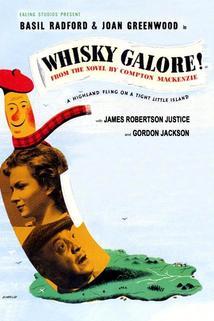Moře whisky!