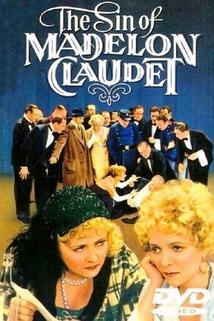 Hřích Madelon Claudet