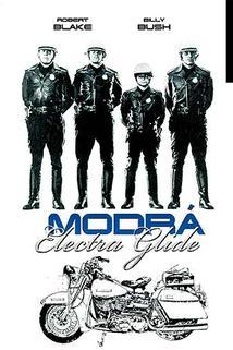 Modrá Electra Glide  - Electra Glide in Blue