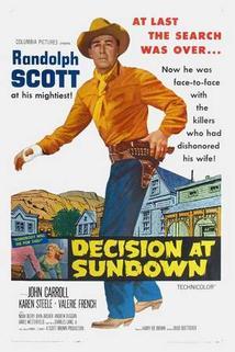 Sundown - město pomsty  - Decision at Sundown