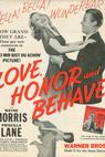 Love, Honor and Behave (1938)
