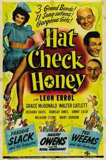 Hat Check Honey  - Hat Check Honey