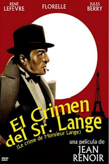 Zločin pana Langa  - Crime de Monsieur Lange, Le