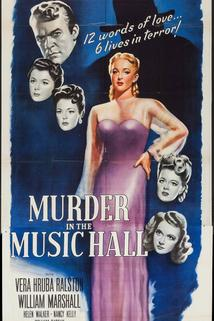 Murder in the Music Hall  - Murder in the Music Hall