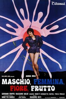 Maschio, femmina, fiore, frutto