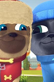 Puppy Dog Pals - Art for Pug's Sake/Winter Wonderpug  - Art for Pug's Sake/Winter Wonderpug