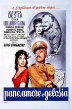 Plakát k filmu: Chléb, láska a žárlivost