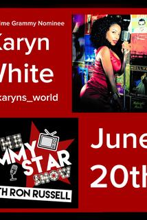 The Jimmy Star Show with Ron Russell - Karyn White/Doctor Dre  - Karyn White/Doctor Dre