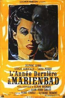 Plakát k filmu: Loni v Marienbadu