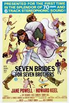 Plakát k filmu: Sedm nevěst pro sedm bratrů