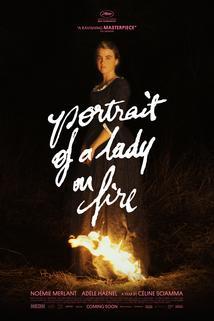 Portrét dívky v plamenech