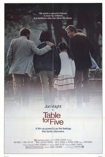 Stůl pro pět