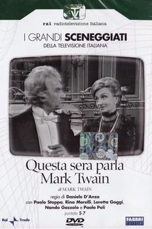 Questa sera parla Mark Twain