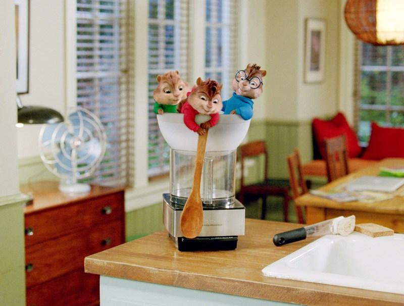 Alvin a Chipmunkové 2