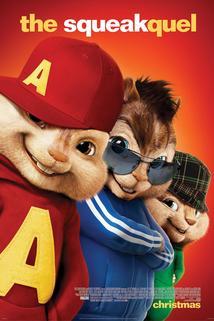 Plakát k filmu: Alvin a Chipmunkové 2