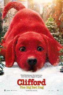 Velký červený pes Clifford