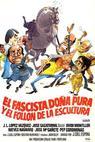 Fascista, doña Pura y el follón de la escultura, El